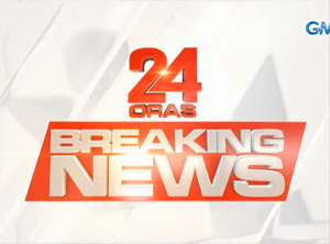 24 Oras Breaking News Title Card (2018)
