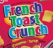 French Toast Crunch Toast shape