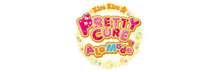 KiraKira Pretty Cure a la Mode - Offcial English Logo