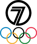 Seven Olympics Logo 1992-2000