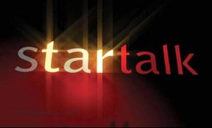 Startalk 9th Year OBB Logo (October 2004)