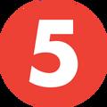 TV5 (Get It on 5) Logo
