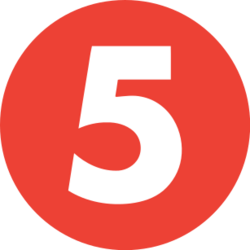 TV5 (Get It on 5) Logo