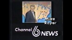 WBRC-TV's Channel 6 Mike Royer video promo from 1982