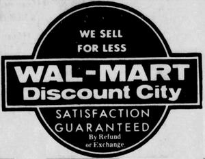 Wal-Mart - 1969 -December 16, 1971-