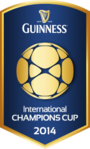 2014 Guinness International Champions Cup logo