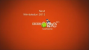 BBC One Scotland Wimbledon 2015 Coming up Next bumper