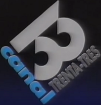 Canal 33 logo 1988