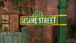 Sesame Street logo seen on promo on HBO