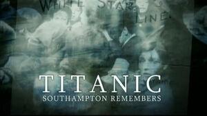 TitanicSouthamptonRemembers