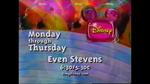 90s Disney Channel promo for Even Stevens