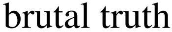 BrutalTruth logo 02