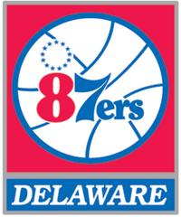 Delaware 87ers logo