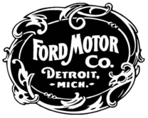 Ford logo 1903