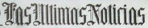 Las Ultimas Noticias 1904
