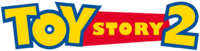 Toy story 2 logo (horizontal)