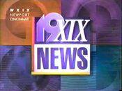 WXIX 19XIX News at Midnight 1993 1