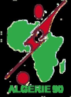 CAN Algerie 1990 logo