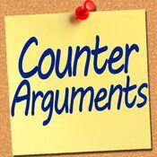 Counter arguments postitnote