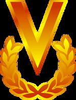 Logo de venevision 1989-1994 sin texto