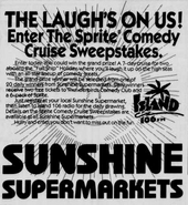 Sunshine Food Stores - 1991 -September 4, 1991-
