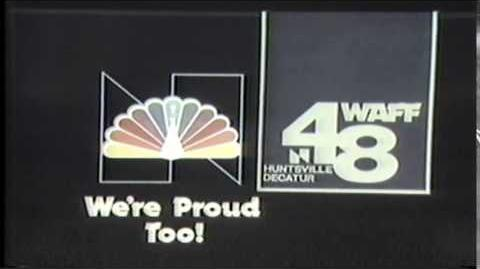1980 WAFF-TV Channel 48 Huntsville Decatur Alabama Station I.D.