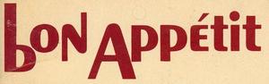Bon Appétit logo 1965