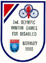 Geilo 1980 Paralympics logo