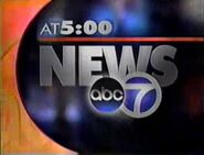 KGO Channel 7 News at 5PM 1998