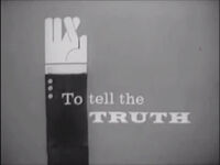 To Tell the Truth 1960