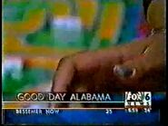 WBRC's FOX 6 Good Day Alabama video opening from December 23rd, 1999