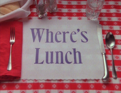 Where's Lunch? (1996)