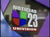 Wltv now back to noticias 23 bumper 1996
