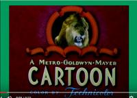 A MGM Cartoon Logo