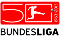 Bundesliga logo (50th anniversary, with wordmark)