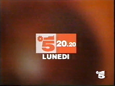Canale 5 - red orange 1994