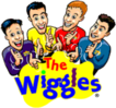 Cartoon Wiggles And The Logo.PNG