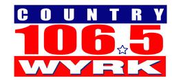 Country 106.5 WYRK logo