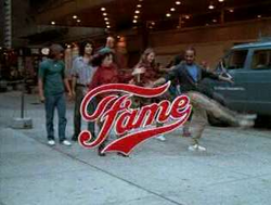 Fame Title Screen