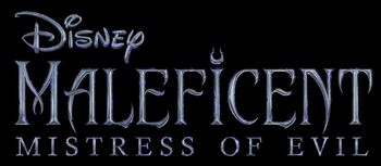 Maleficent Mistress of Evil logo