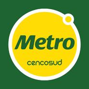 Metro logo 2012 1 con fondo verde