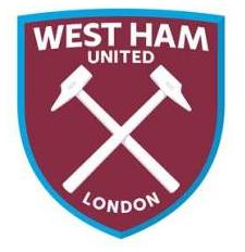 Image - New West Ham United FC logo (claret and blue v1 ...