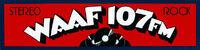 WAAF 107 FM Stereo Rock