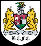 Bristol City FC logo (1996-1997, away)