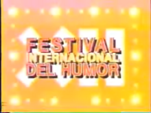 Festival Internacional del Humor 1995 logo