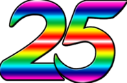 Indosiar 25 Tahun Rainbow Number 2
