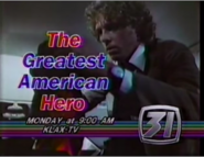 KLAX-TV The Greatest American Hero Promo 2