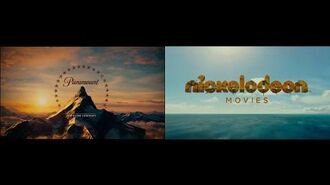 Paramount Pictures and Nickelodeon Movies (The Spongebob Movie Sponge Out Of Water Variant)