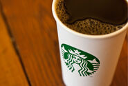 Starbucks coffee cup 2011