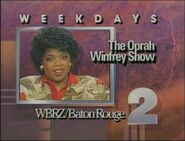 WBRZ-TV The Oprah Winfrey Show promo 1987